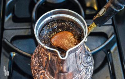 تولید کف قهوه ترک